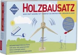 Holzbausatz SOLAR Windrad 34 Teile