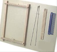 Allgäuer Webrahmen - Holzwebrahmen, 17 cm im Beutel, ab 3 Jahren