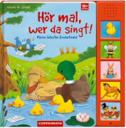 Hör mal, wer da singt! Meine liebsten Kinderlieder, Soundbuch, Pappbilderbuch, 10 Seiten, ab 1 - 3 Jahre