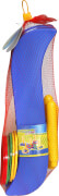 Outdoor active Ringwurfspiel mit 4 Stäben, 13-teilig, ca. 49x49x22 cm, ab 12 Monaten