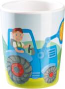 HABA -  Becher Traktor, # 7,5 cm